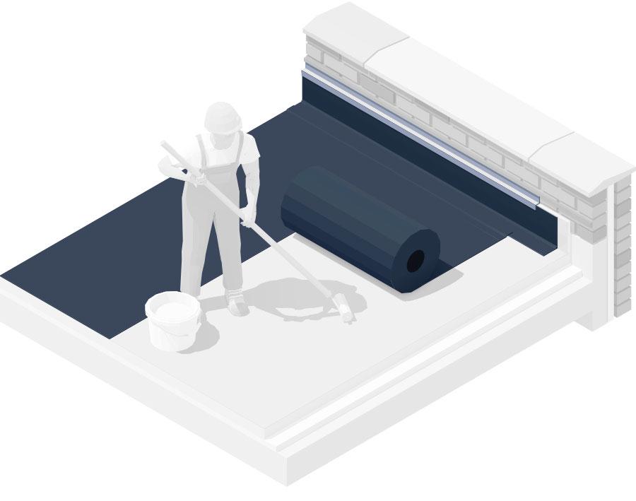 Otto-Wagner-GmbH-Sanitaer-Heizung-Bauklempnerei-illu-flachdach